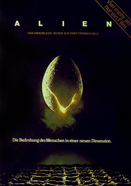 Alien Filmplakat Uncut