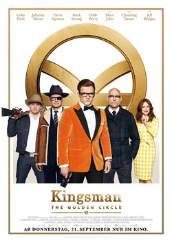 Filmplakat zu Kingsman: The Golden Circle