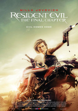 Filmplakat zu Resident Evil: The Final Chapter