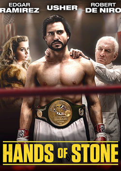 Filmplakat zu Hands of Stone