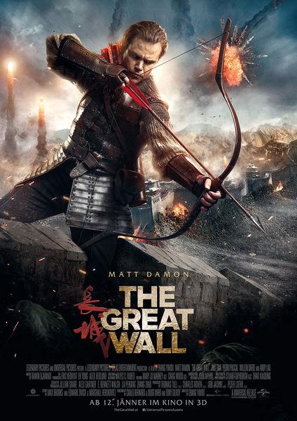 Bildergebnis für the great wall filmplakat