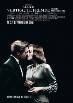 Filmplakat zu Allied - Vertraute Fremde