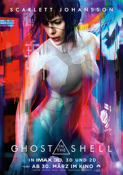 Filmplakat zu Ghost in the Shell
