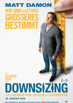 Filmplakat zu Downsizing