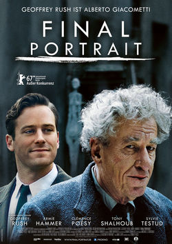 Filmplakat zu Final Portrait