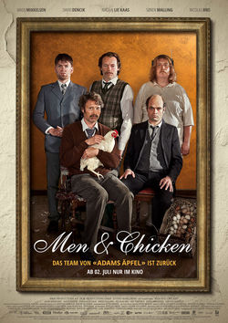 Filmplakat zu Men & Chicken