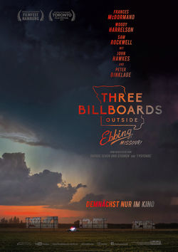 Filmplakat zu Three Billboards Outside Ebbing, Missouri