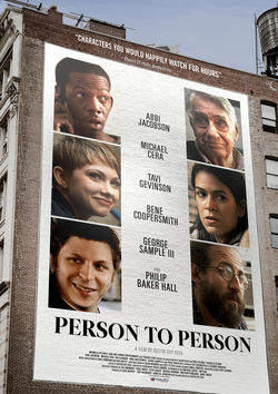 Filmplakat zu Person to Person