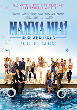Filmplakat zu Mamma Mia! Here We Go Again
