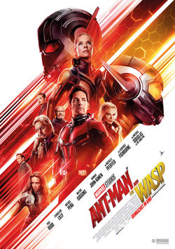 Filmplakat zu Ant-Man and the Wasp