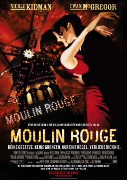 Filmplakat zu Moulin Rouge!
