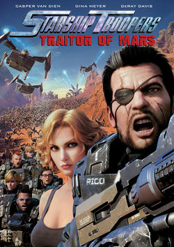 Filmplakat zu Starship Troopers: Traitor of Mars