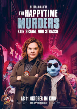 Filmplakat zu The Happytime Murders
