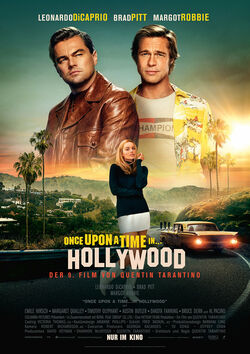 Filmplakat zu Once Upon a Time in Hollywood