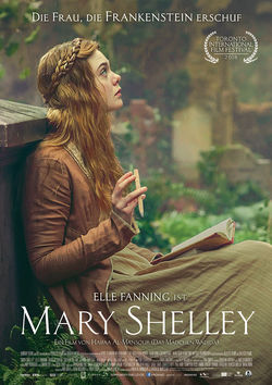 Filmplakat zu Mary Shelley