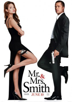 Filmplakat zu Mr. and Mrs. Smith