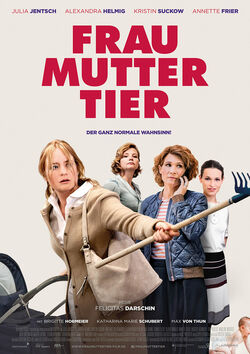 Filmplakat zu Frau Mutter Tier