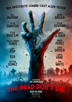 Filmplakat zu The Dead Don't Die