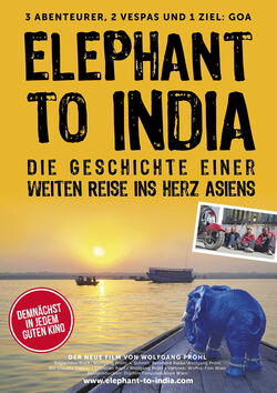 Filmplakat zu Elephant to India