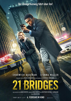 Filmplakat zu 21 Bridges