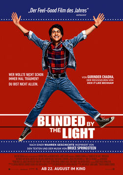 Filmplakat zu Blinded by the Light