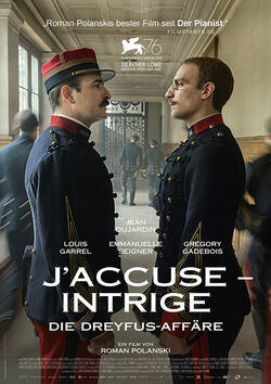 Filmplakat zu J'accuse - Intrige