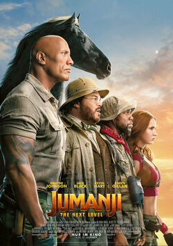 Filmplakat zu Jumanji: The Next Level