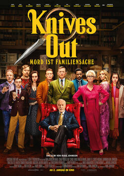 Filmplakat zu Knives Out - Mord ist Familiensache