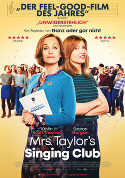 Filmplakat zu Mrs. Taylor's Singing Club