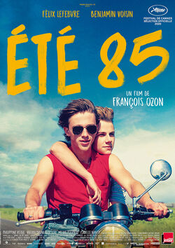 Filmplakat zu Summer of 85 - Été 85