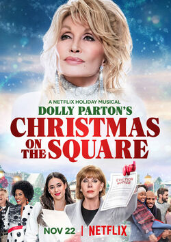 Filmplakat zu Dolly Parton's Christmas on the Square