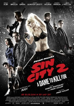 Filmplakat zu Sin City 2: A Dame to Kill For