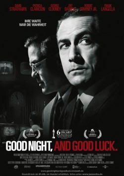 Filmplakat zu Good Night, and Good Luck.