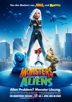 Filmplakat zu Monsters vs. Aliens