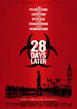 Filmplakat zu 28 Days Later