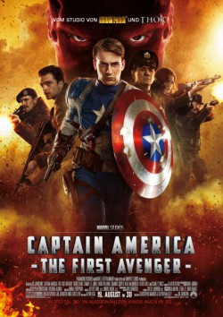 Filmplakat zu Captain America - The First Avenger