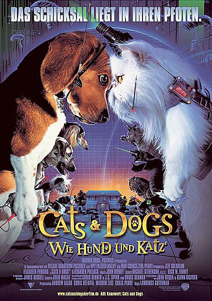 Кошки против собак / Коты и собаки / Cats & Dogs.