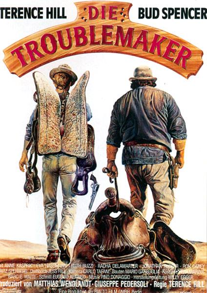 Die Troublemaker (Filmplakat) - UNCUT