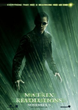 Filmplakat zu Matrix Revolutions