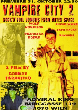 Filmplakat zu Vampire City 2 - Rock'n'Roll Zombies From Outer Space