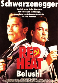 Filmplakat zu Red Heat