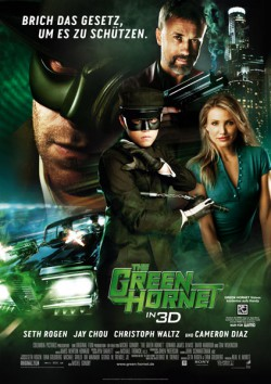 Filmplakat zu The Green Hornet