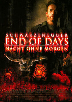 Filmplakat zu End of Days - Nacht ohne Morgen