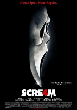 Filmplakat zu Scream 4