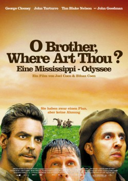 Filmplakat zu O Brother, Where Art Thou? - Eine Mississippi-Odyssee