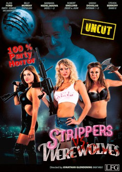 Filmplakat zu Strippers vs. Werewolves