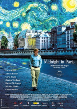 Filmplakat zu Midnight in Paris