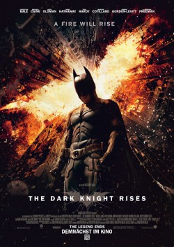 Filmplakat zu The Dark Knight Rises