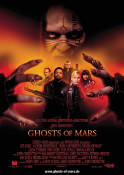 Filmplakat zu Ghosts of Mars