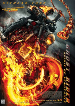 Filmplakat zu Ghost Rider: Spirit of Vengeance